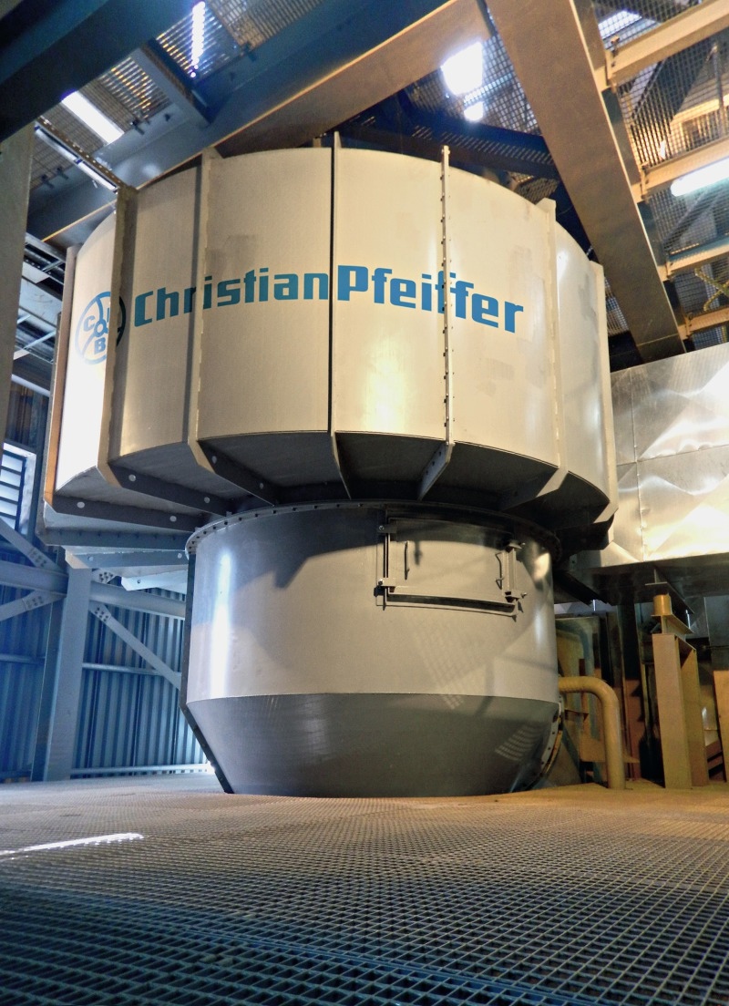 Meet Grinding Plant : Official launch of east malaysia s first integrated