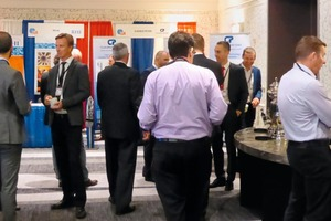 "<div class=""bildtext_en"">2 The welcome reception provided a first opportunity to find out about the products and services shown by the exhibiting suppliers</div>"