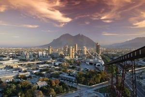 Stammwerk von Cemex in Monterrey<br />