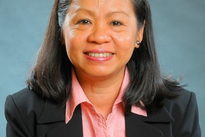Mrs Mai, the LOESCHE chief ­representative in Vietnam<br />