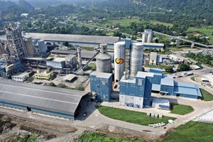 Birds eye view of the new CMS grinding plant