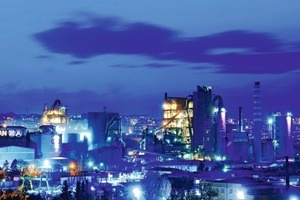 """<div class=""""bildunterschrift_en""""><span class=""""bu_ziffer_blau"""">1</span>The Büyükçekmece cement plant located west of Istanbul supplies 10% of the country's total demand and 12.5% of the nation's total cement and clinker exports</div>"""