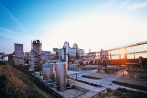 Modern cement production at the Karsdorf plant