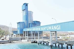 Terminal für Sackverladung in Indonesien