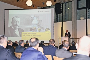 "<div class=""bildtext_en"">1 Gerold Keune (CEO) opened the two-day technical session of the Convention</div>"