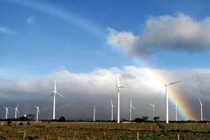 EURUS-Windpark feierlich eingeweiht<br />