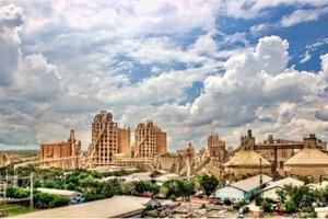 Zementwerk Gresik inIndonesien