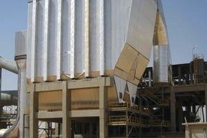 Kühlerentstaubung mit Elektrofilter bei Arabian Cement (FLSmidth Airtech)<br />
