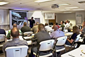 "<div class=""bildtext_en"">4 The Foundations Workshop series teaches bulk ­materials handling personnel how to operate and maintain clean and safe belt conveyors</div>"