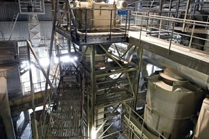 More flexibility after a central chain bucket-elevator conversion
