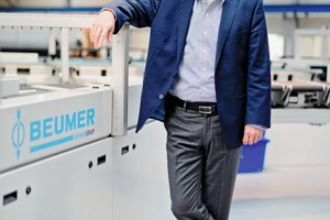 "<div class=""bildtext_en"">1 Dr. Christoph Beumer is the managing shareholder and Chairman of the Board of Management of the Beumer Group, with registered offices in Beckum; he is the third generation of the family to head the company </div>"