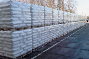 """<div class=""""bildtext_en"""">3 The WMS controls and coordinates such manufacturing and storage processes as bag-filling, palletizing and load securing</div>"""