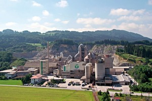 "<div class=""bildtext_en"">3 The Rohrdorf cement plant lies 10 km to the Southeast of Rosenheim/Germany</div>"
