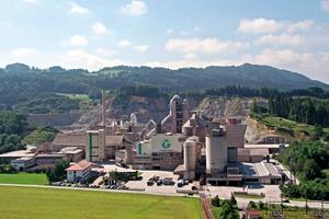 "<div class=""bildtext_en"">3 The Rohrdorf cement plant lies 10km to the Southeast of Rosenheim/Germany</div>"