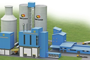 5 Draft layout of the new cement grinding plant for Cahya Mata Sarawak