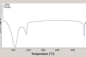 "<div class=""bildtext_en"">6 DSC characteristic of the coat material (20 d)</div>"