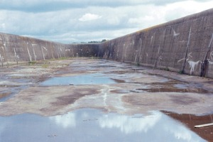 ASR damages to a water engineering structure<br />