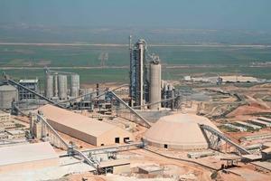 """<span class=""""bildunterschrift_hervorgehoben"""">4</span>Ciba cement plant in Algeria • Ciba Zementwerk in Algerien"""