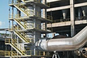 Heißgaserzeuger (25MW) für die Verbrennung von 100% Petrolkoks