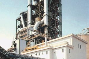 "<span class=""bildunterschrift_hervorgehoben"">1</span>PH waste heat boiler and turbine/generator house at Taiheiyo Cement <br />"