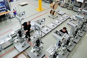 Prefabrication of Rotopacker modules on modern digital ­production lines