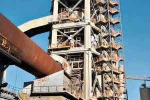 """<div class=""""bildtext_en"""">15 Repaired and strengthened preheater tower</div>"""