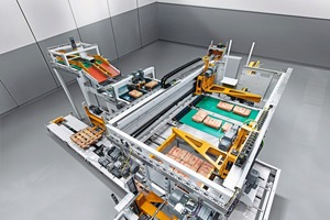 "<div class=""bildtext_en"">4 In the high-capacity range of the Beumer paletpac product line, up to 5500 bags/h can be palletized </div>"