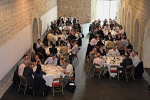 "<div class=""bildtext_en"">3 The lunch break in one of the historic warehouses of Avignon also offered time and opportunities for real round-table-talks</div>"