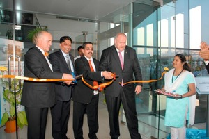 Inauguration of the new production facilities