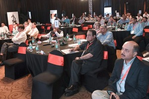 "<div class=""bildtext_en"">Industry leaders, decision makers and technical teams from all major Indian cement producers enriched the lively dialogue and workshops at the ­two-day event in Goa/India</div>"