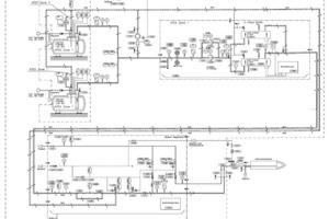 """<span class=""""bildunterschrift_hervorgehoben"""">1</span>Flowsheet for Unitherm Cemcon Feuerungsanlagen GmbH's plant in Vienna<br />"""