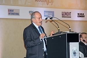 Ahmad Al-Rousan eröffnete die Tagung