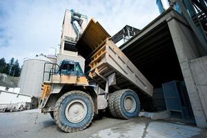 15000 t/d Material werden bewegt<br />