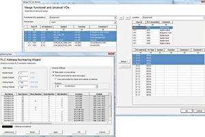 PLC-Assistent für das BUS-Design