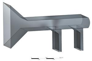 3D-Modell des Saugzuges<br />