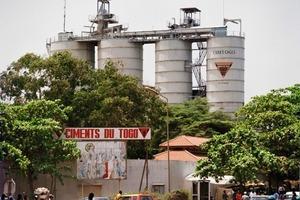 "<span class=""bildunterschrift_hervorgehoben"">6</span>Clinker grinding plant owned by Ciments du Togo (Heidelberg<br />Cement)<br />"