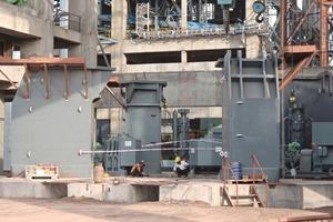 Die montierten Stützen der MVR im Werk Balaji (Indien)<br />