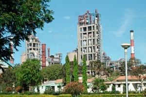 Zementwerk Tadpatri von Ultratech