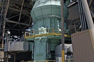Loesche-Zementmühle im Werk Balcones