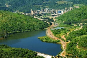 Zementwerk Santa Helena in Brasilien