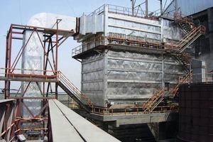 Hybridfilter bei Maihar Cement zur Kesselentstaubung (Elex)<br />