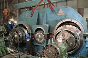 """<div class=""""bildtext_en"""">9 After final assembly, the mill underwent a six-hour test at full load; vibration and trend measurements indicated a significant improvement</div>"""