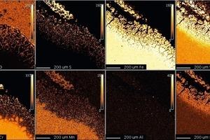 1.4828, 200h, 1000°C, SO<sub>2</sub>, Mikrosonde<br />