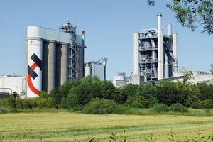 Das Holcim-Werk in Lägerdorf (Schleswig-Holstein)