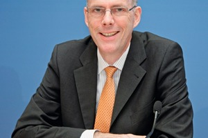 Dr. Martin Schneider, general manager of the Federal German ­Association of the Cement Industry (BDZ)<br />