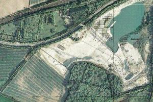 Steinbruch II an der Beckumer Straße mit erster Wasserfläche Ahlen-Vorhelm<br />