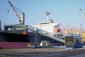 Mobiler Schiffsbelader von B&W