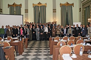 "<div class=""bildunterschrift_en""><span class=""bu_ziffer_blau"">2</span> The event took place in the Cairo Marriott's famous Green Hall</div>"