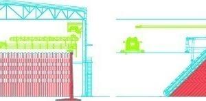 Betriebsweise eines Haldenschütt- und Entspeicherungsgeräts vom Typ BEL C