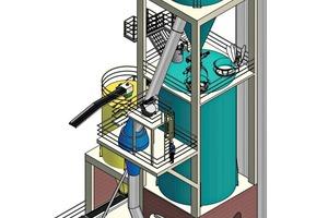 3D-Ansicht der Anlage